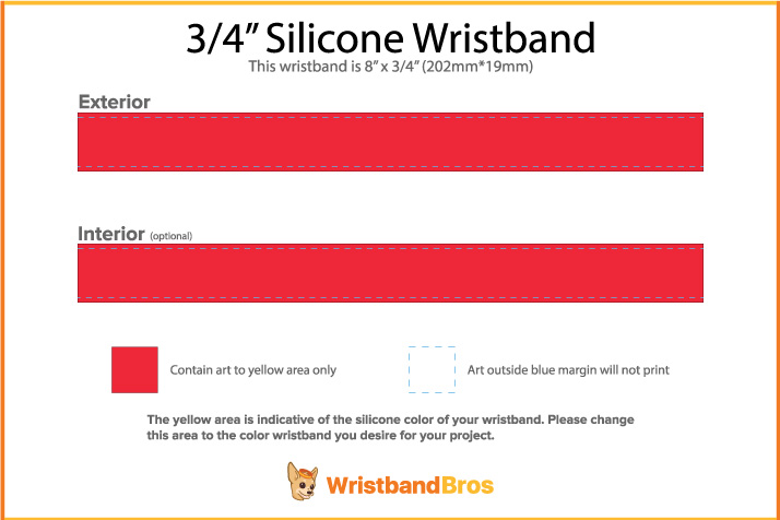 picture about Printable Wristband Template named Planning A Custom made Wristband All Via Your Lonesome