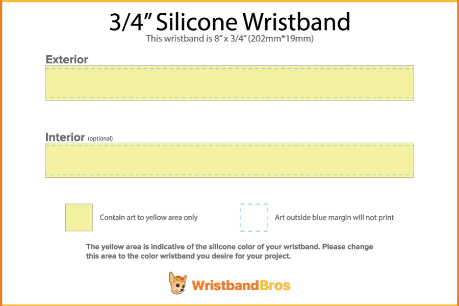 picture about Printable Wristband Template identify Building A Custom made Wristband All By way of Your Lonesome