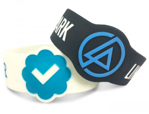 one inch wristbands