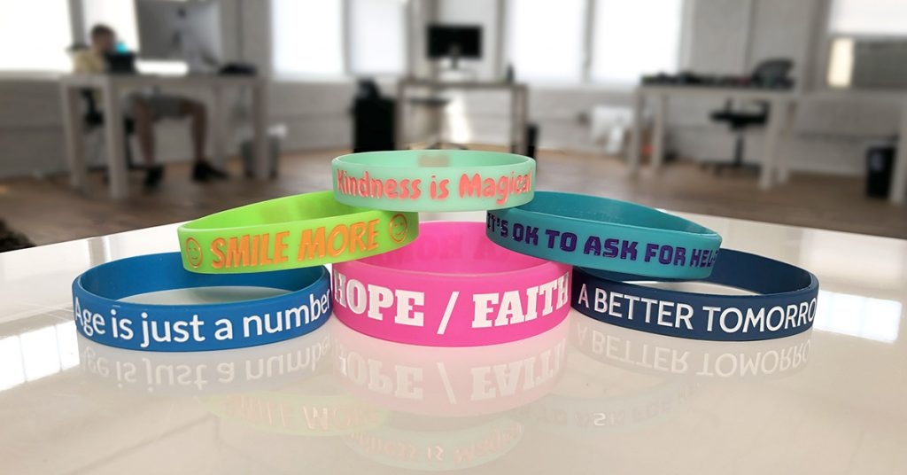 Examples of Motivational Wristbands