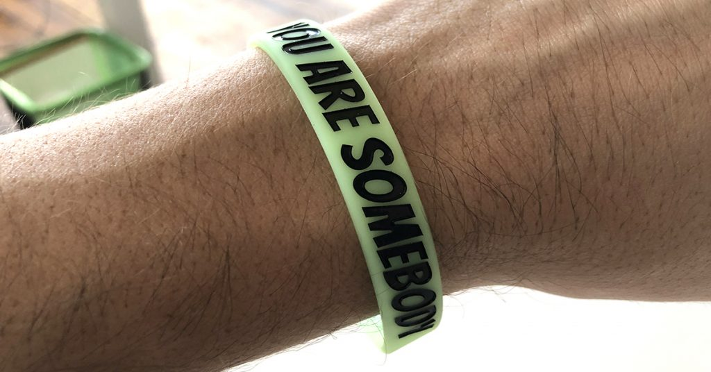 wristbands with messages worth sharing